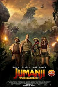 Jumanji: Przygoda w dżungli - DUBBING KINO - HD / Jumanji: Welcome to the Jungle